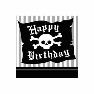 Pirate Beverage Napkins (16)