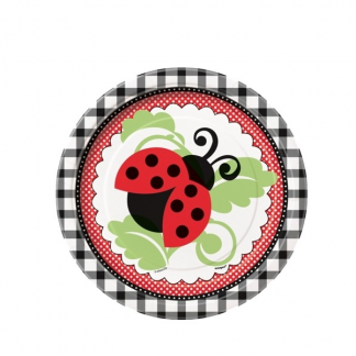 Ladybug 7in Paper Plates (8)