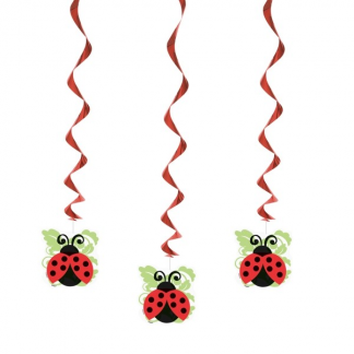 Ladybug Hanging Decorations (3)