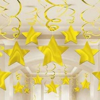 Gold Star Swirl Value Pack