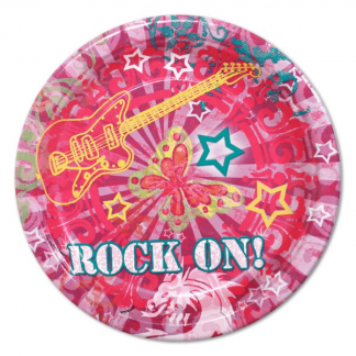 Rock On Side Plates (8)