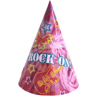Rock On Party Hats (8)