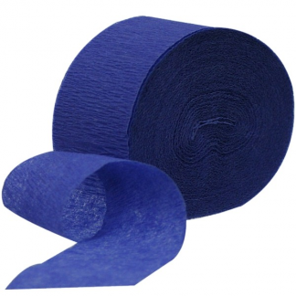 Royal Blue Crepe Streamer (2pk)