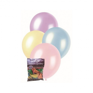 Assorted 30cm Pearl Balloons (25)