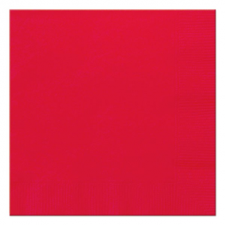 Ruby Red Luncheon Napkins (20)