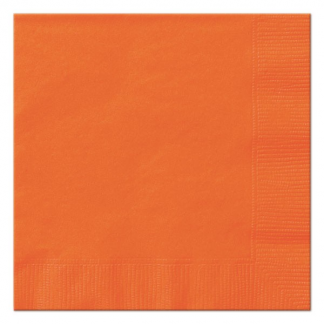 Pumpkin Orange Luncheon Napkins (20)