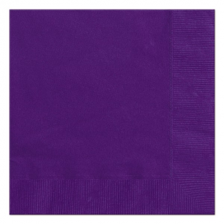 Deep Purple Beverage Napkins (20) unique