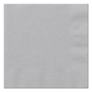 Pale Silver Luncheon Napkins (20)