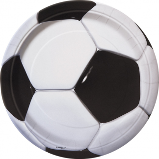 Soccer Party Side Plates (8) - 7inch
