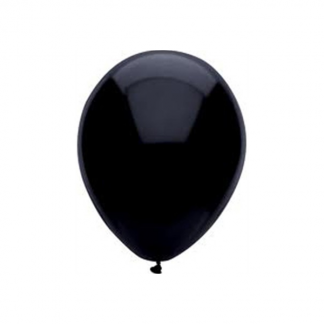 30 cm Decorator Black Balloons (25)