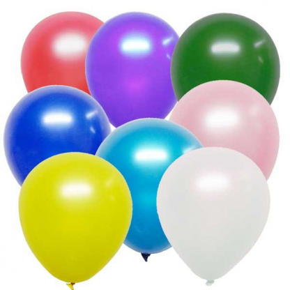 Assorted Decorator Balloons (25) 30cm