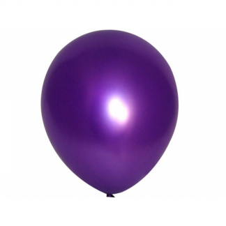 30cm Metallic Purple Balloons (25)