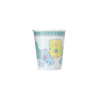 Baby Blue Stitching Cups (8)