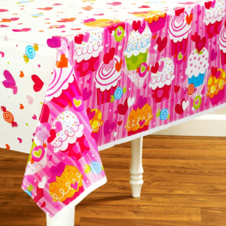Cupcake Hearts Tablecover