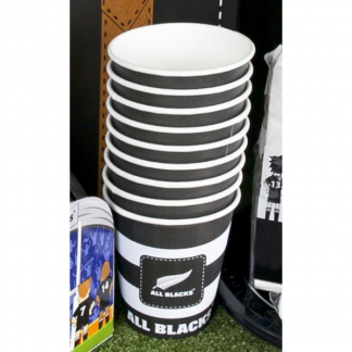 All Blacks Rugby Paper Cups (10)