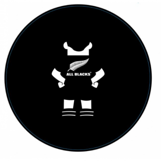 All Blacks Rugby Paper Plates (10)