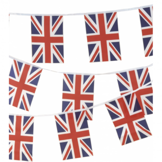 Union Jack British Flag Bunting 3m