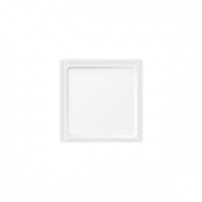 9 inch Clear Square Plastic Plate (8pk)