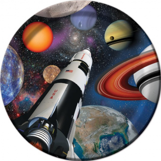 Space Blast Plates - 7inch (8)