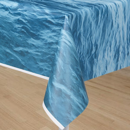 Ocean Wave Table Cover