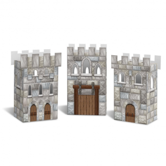 Castle Favor Boxes (3) Or use as Centrepiece