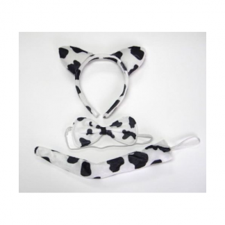 Cow Dress Up Set (3pc)