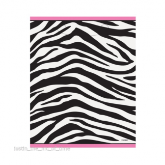 Zebra Passion Loot Bags (8)