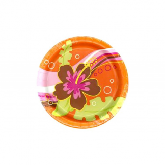 Aloha Paper Plates 7in (8)