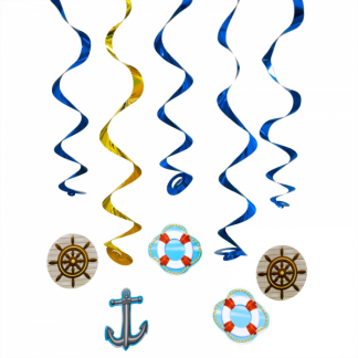 Cruise Whirls Hanging Decorations