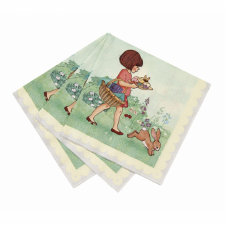 Belle and Boo Lunch Napkins (10pk)