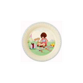 Belle and Boo Paper Plate (8pk)