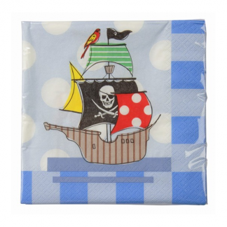 Ahoy Me Hearties Pirate Napkin (20)