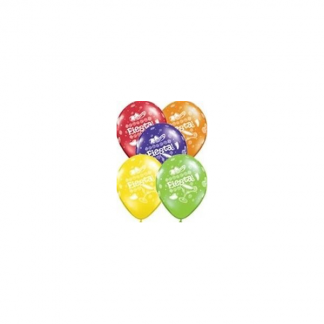 Qualatex 11 inch Latex Fiesta Balloons (5pk)