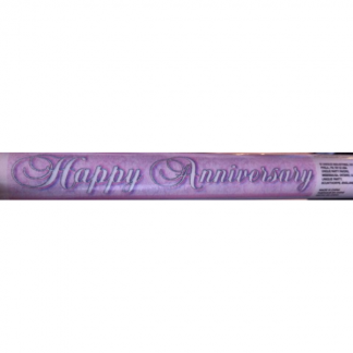 Giant Happy Anniversary Banner