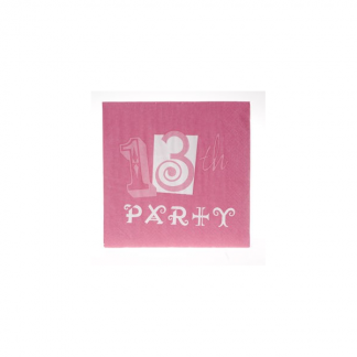 13th Party Pinkalicious Napkin (18pk)