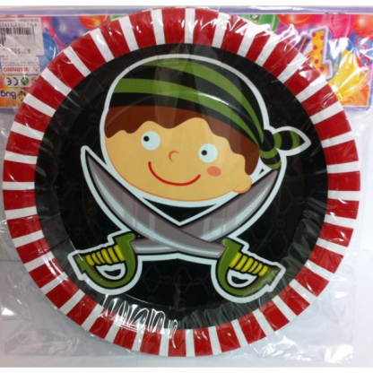 Pirate Boy Plates (6)
