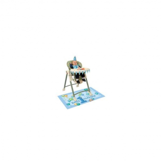 First Birthday Blue High Chair Kit