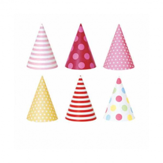 Paper Eskimo Girls Paper Party Hats (12pk)