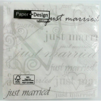 Wedding Time Napkin (20pk)