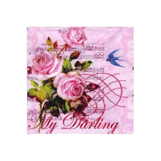 My Darling Pink Napkin (20pk)