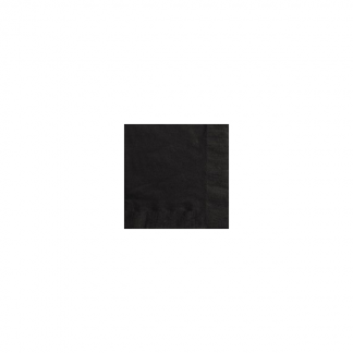 Black Velvet Beverage Napkins (50)