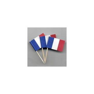 France Flag Picks (20pk)