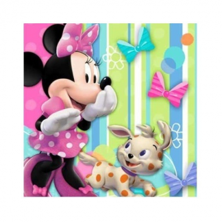 Minnie Mouse Beverage Napkins (16)