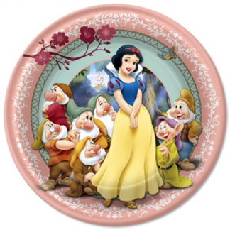 Snow White 9in Plates (8)