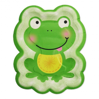 Froggy Frog Plates (8)