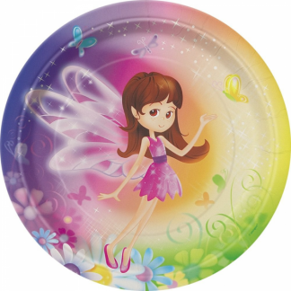 Fairy Whimsy Paper Plates 7in (8)