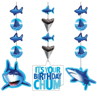 Shark Splash Hanging Decorations (3)