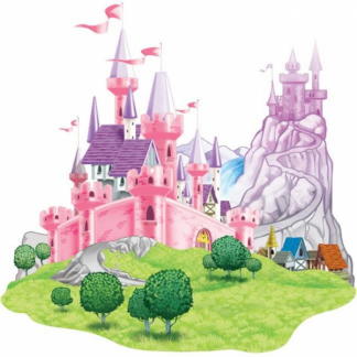 Princess Castle Party Prop - Wall Decoration