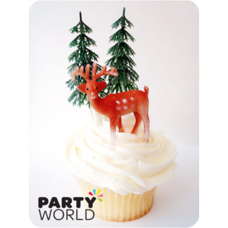 Reindeer Cake Decoration / Toppers (3)