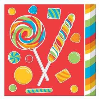 lollipop Beverage Napkins (16)